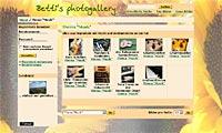 zum Projekt www.bettis-gallery.de